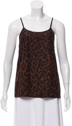 Marc Jacobs Sleeveless Cheetah Top