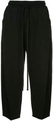 Julius wide leg cropped trousers