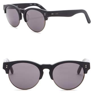 248d8ba1013 Toms Charlie Rae 52mm Clubmaster Sunglasses