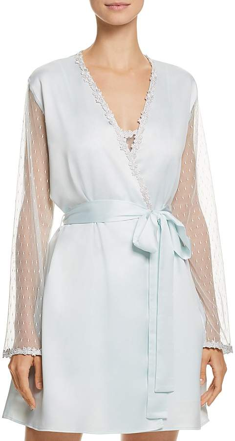 Showstopper Charmeuse Cover-Up Robe