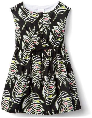 Gymboree Zebra Leaf Dress