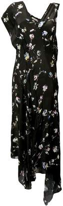 Preen Line asymmetric maxi dress