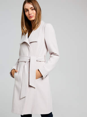 Portmans Australia Eloise Funnel Neck Wrap Coat