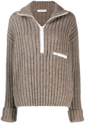 Falke intarsia knit jumper
