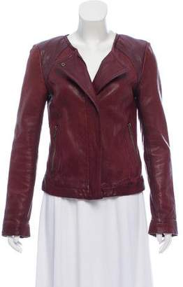 7 For All Mankind Seven Leather Moto Jacket
