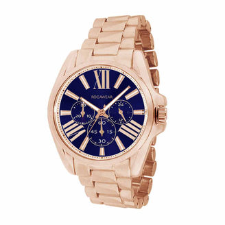 ROCAWEAR Rocawear Womens Rose Goldtone Bracelet Watch-Rl11133rg1-974 $45 thestylecure.com