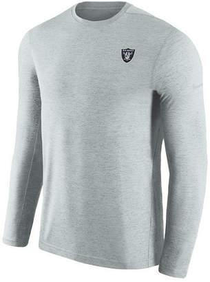 Nike Men's Oakland Raiders Coaches Long Sleeve Top