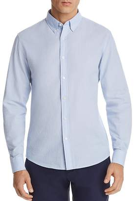 Michael Kors Seersucker Slim Fit Button-Down Shirt