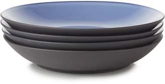 Revol Set of 4 Equinoxe Coupe Porcelain Plates