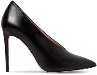 Mila Louise 100mm Leather Pumps