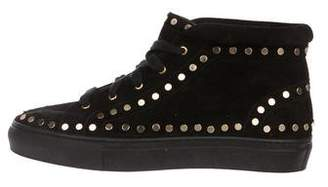 Laurence Dacade Studded High-Top Sneakers