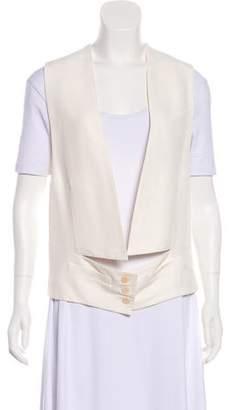 Stella McCartney Collarless Sleeveless Vest