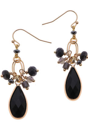 Nakamol CHICAGO Mixed stone drop earrings