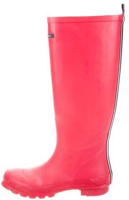 Henri Bendel Rubber Knee-High Rain Boots