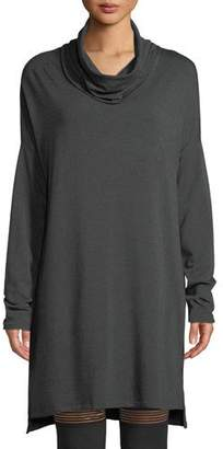 Beyond Yoga Cowl-Neck Long-Sleeve Sweater Dress