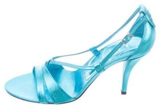 Roger Vivier Sex And The City Sandals w/ Tags Blue Sex And The City Sandals w/ Tags