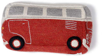 Oeuf VW Bus Plush Toy - Red