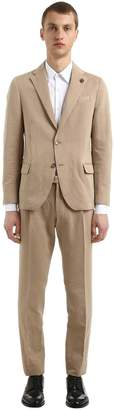 Lardini Linen & Cotton Unlined Suit