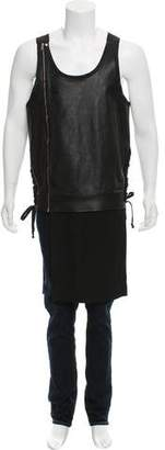 Rick Owens Vicious Leather Tank