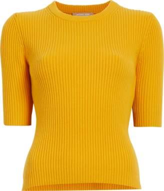 Michael Kors Elbow Sleeve Crewneck Sweater