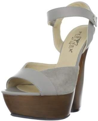 Pleaser USA Women's Swan-612/TPLE-S Ankle-Strap Sandal