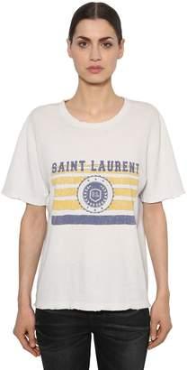 Saint Laurent (サン ローラン) - SAINT LAURENT ヴィンテージプリント ジャージーTシャツ