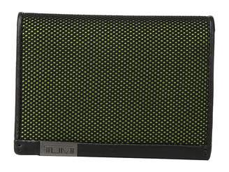 Tumi Alpha - Gusseted Card Case With ID