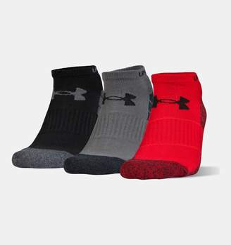 Under Armour UA Elevated Performance No Show Socks 3-Pack