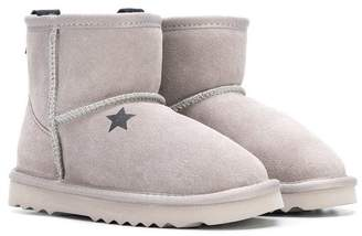 Douuod Kids lined ankle boots