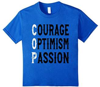 Cop Courage Optimism Passion T-Shirt