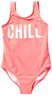Kate Spade chill one piece swimsuit (Big Girls)