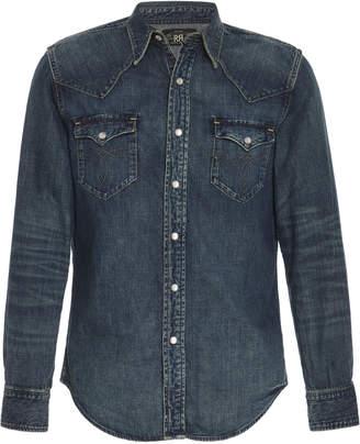 badd977c5e Buffalo David Bitton RRL Western Cotton-Chambray Shirt