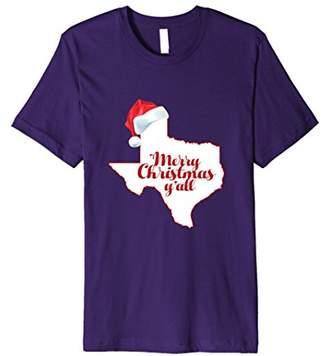 Texas Christmas T-Shirt: Merry Christmas Y'all Shirt