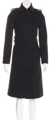 Rachel Zoe Collared Long Coat