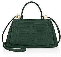 Nancy Gonzalez Women's Claire Top Handle Leather Frame Bag