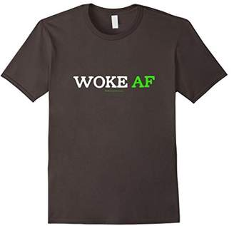 Justice Woke AF Social Racism Awareness Cool Slang T-Shirt