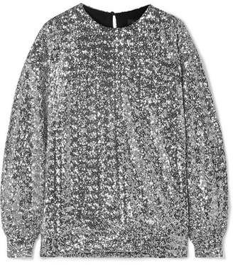 Isabel Marant Olivia Sequined Jersey Blouse