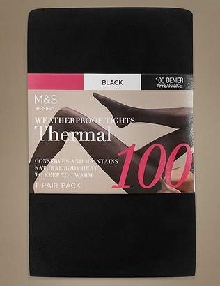 Marks and Spencer 100 Denier Thermal Tights