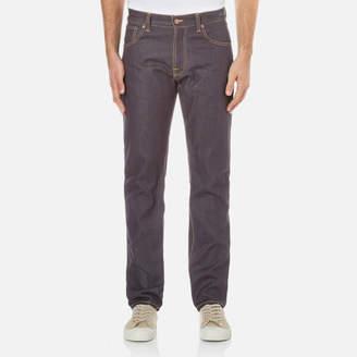 Nudie Jeans Men's Steady Eddie Regular/Straight Leg Jeans