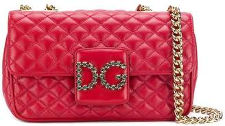 Dolce & Gabbana front logo shoulder bag