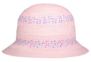 George Floral Fabric Trim Sun Hat