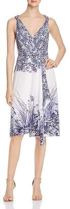 Elie Tahari Harlow Sleeveless Printed Dress