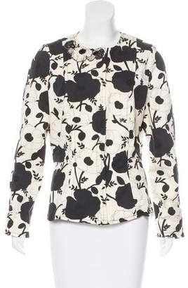 Blumarine Embellished Printed Jacket