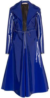 Marni high shine PVC coat