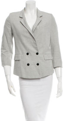 Boy. by Band of Outsiders Grey Double-Breasted Blazer $85 thestylecure.com
