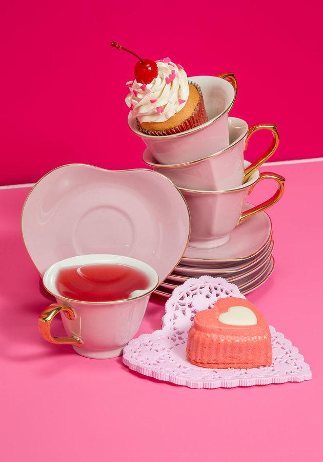 Dream and Sugar Tea Set in Petal