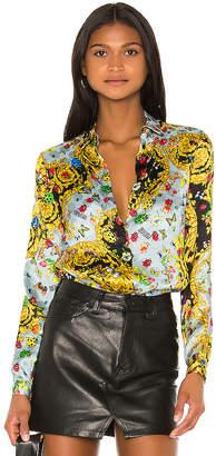 Versace Button Up Lady Shirt