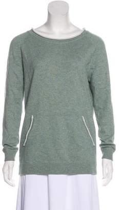 Brunello Cucinelli Scoop Neck Long Sleeve Sweatshirt