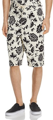 Junya Watanabe Floral Shorts $485 thestylecure.com