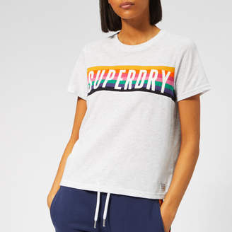 Superdry Women's Rainbow Graphic T-Shirt